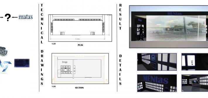 Buitksdesign Mentas (matas for men), lavet i 3D tegninger