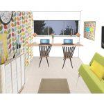Indretning af kontor og gæsteværelse - Aarhus