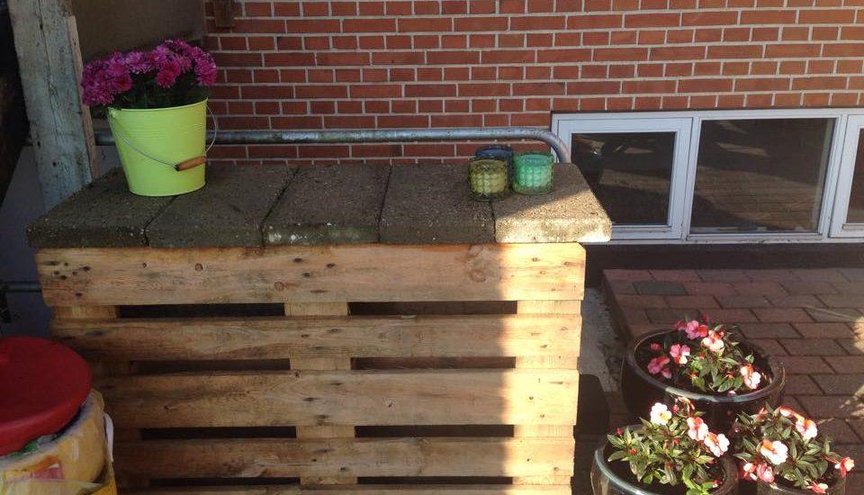 Plantebord eller udekøkken DIY / Redesign / Upcycling fra CeeDesign