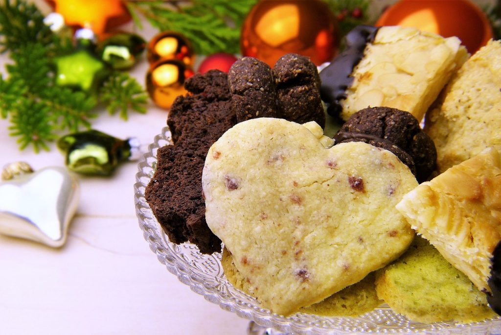 Tips til at bruge bagværk i din indretning i julen.