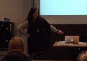 Foredrag på Erhvervsakademi MidtVest